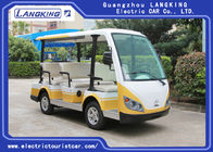 White /Yellow 8 Seater  Golf  Cart Electric Sightseeing Bus China Mini Tour Bus