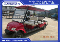 Fuel Type Esix Seater Electric Car , Club Precedent Golf Cart 80km Range