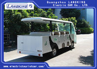 14 Seater Electric Shuttle Car Equipped With Effective Shock Absorb With Door