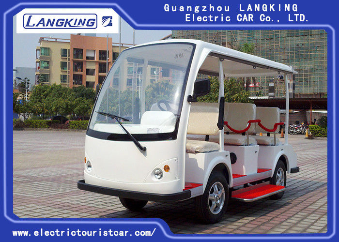 ISO Approved Electric Sightseeing Car 48V Free Maintain Battery Electric Passenger Car