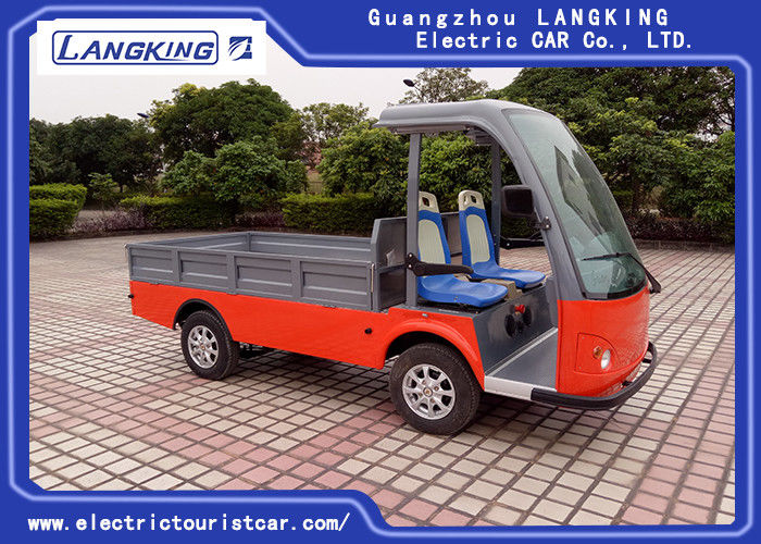48V Battery Electric Luggage Cart With Cargo ≤4.5m Braking Distance