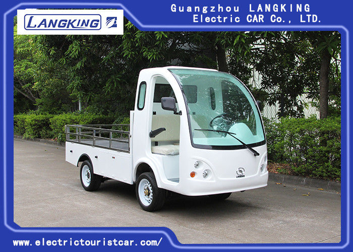 Left Hand Drive Electric Mini Truck For Amusement Park / Campus / Hotel