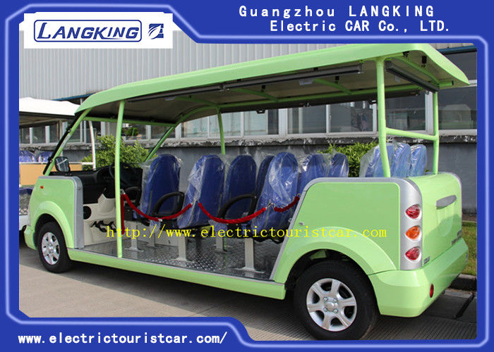 Fashion 14 Person Electric Tourist Car Max Forward Speed 30km/H For Hotel