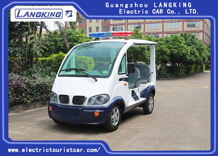 Unique 4 Seats Electric Patrol Car Battery Powered  Max. Speed 28km/H